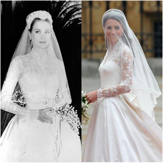 Princess Grace & Duchess Catherine
